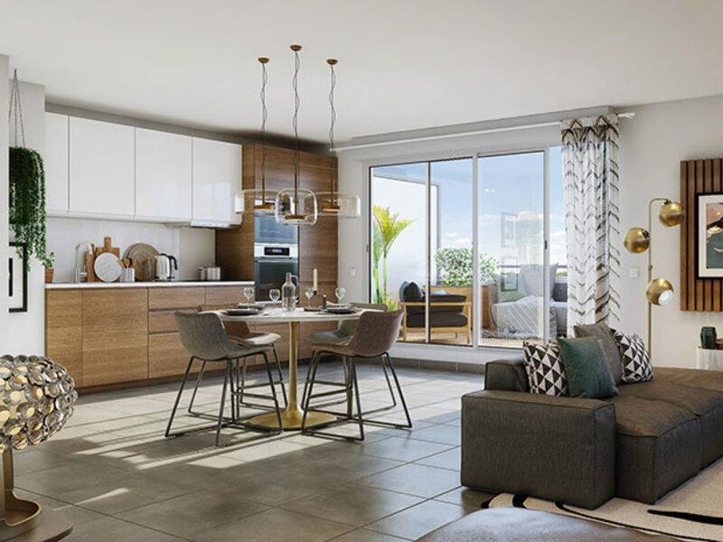 Appartement de 60  m2 - Plaisance-du-Touch (31830)