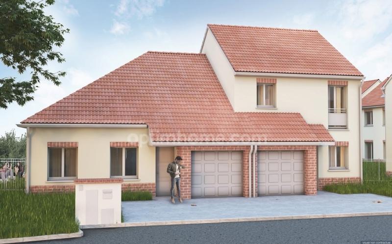 Maison en vefa de 80  m2 - Attiches (59551)