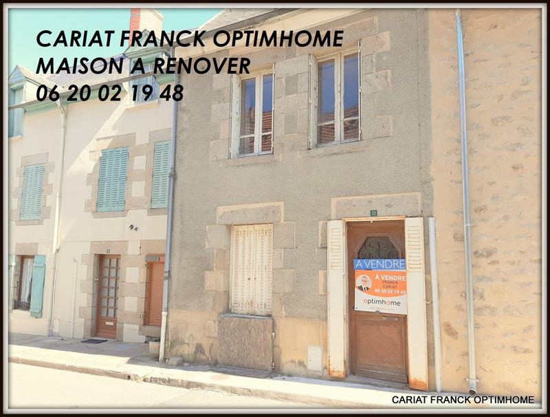 Maison à rénover de 82  m2 - Bénévent-l'Abbaye (23210)