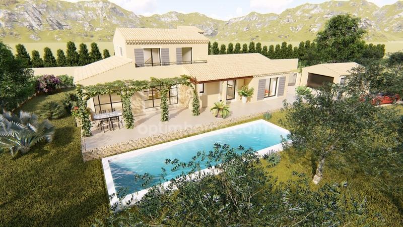 Maison de 200  m2 - Maussane-les-Alpilles (13520)