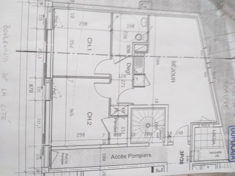 Appartement de 56  m2 - Limoges (87000)