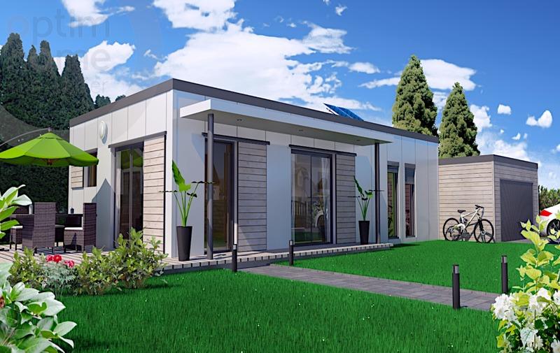 Maison contemporaine de 72  m2 - Amagne (08300)