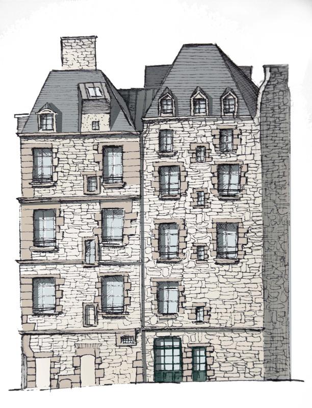 Appartement de 25  m2 - Saint-Malo (35400)